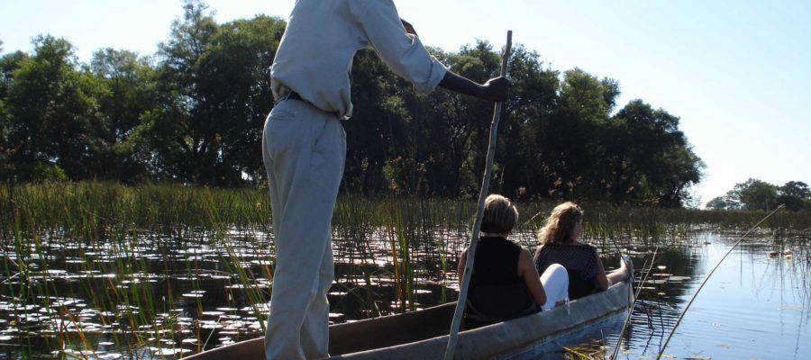 Africa; Botswana; Sanctuary Stanley's Camp; Mokoro Excursion