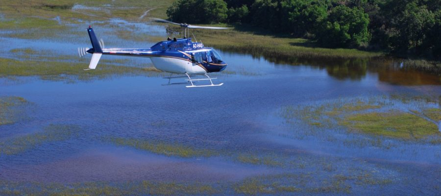 Africa; Botswana; Sanctuary Stanley's Camp; Scenic Helicopter Flight