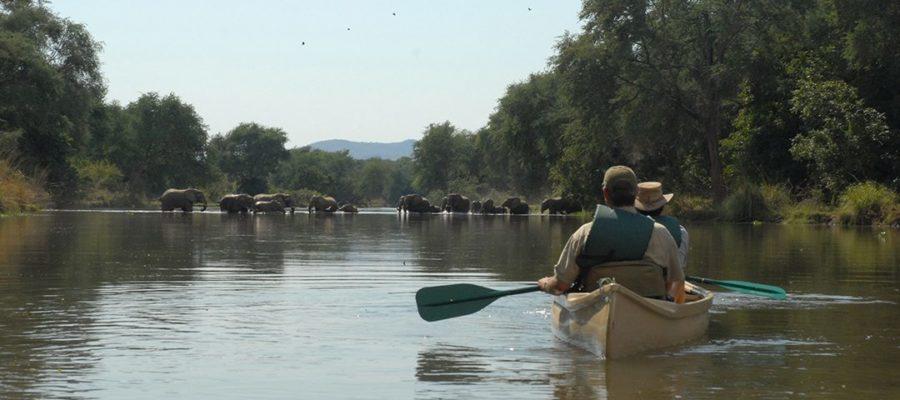 conoeing-on-zambezi