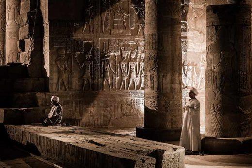 Egypt, Nile River, Sanctuary Sun Boat IV