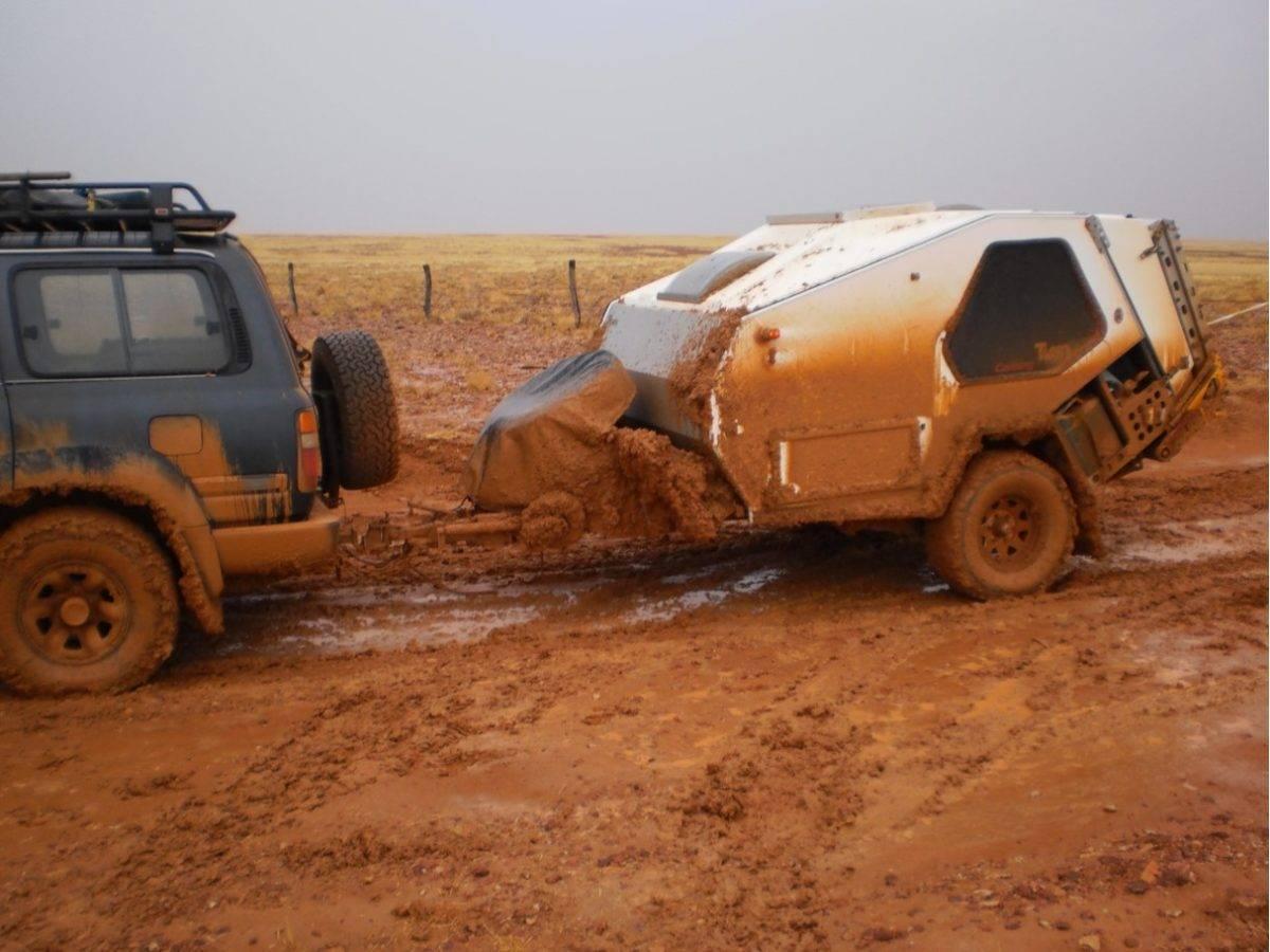 Desert Trailer Trip