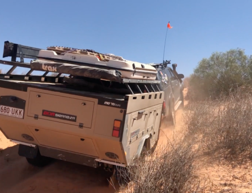 Our AOR Sierra ZR micro camper shakedown review. How'd it go across the desert and the Top End?