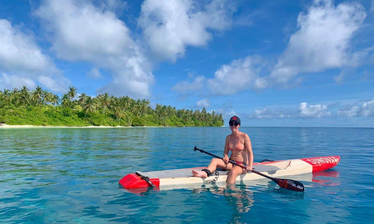 Paddle, Maldives